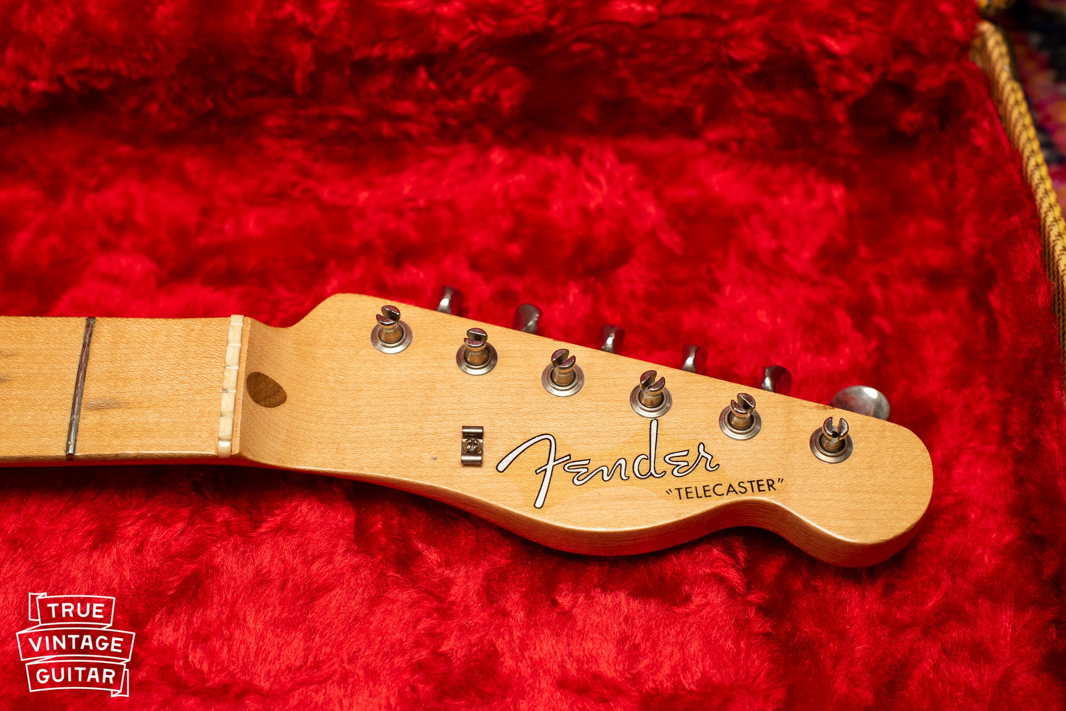 1957 Fender Telecaster Blond headstock, string tree, Fender logo