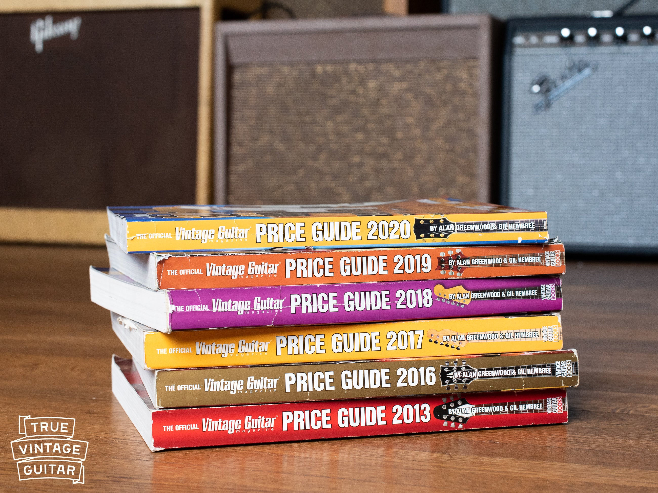 Vintage Guitar Values price guide 2019