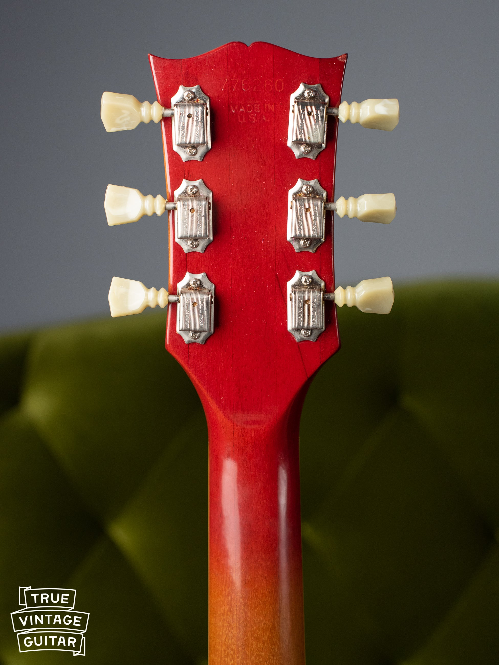 How to date gibson SG guitar