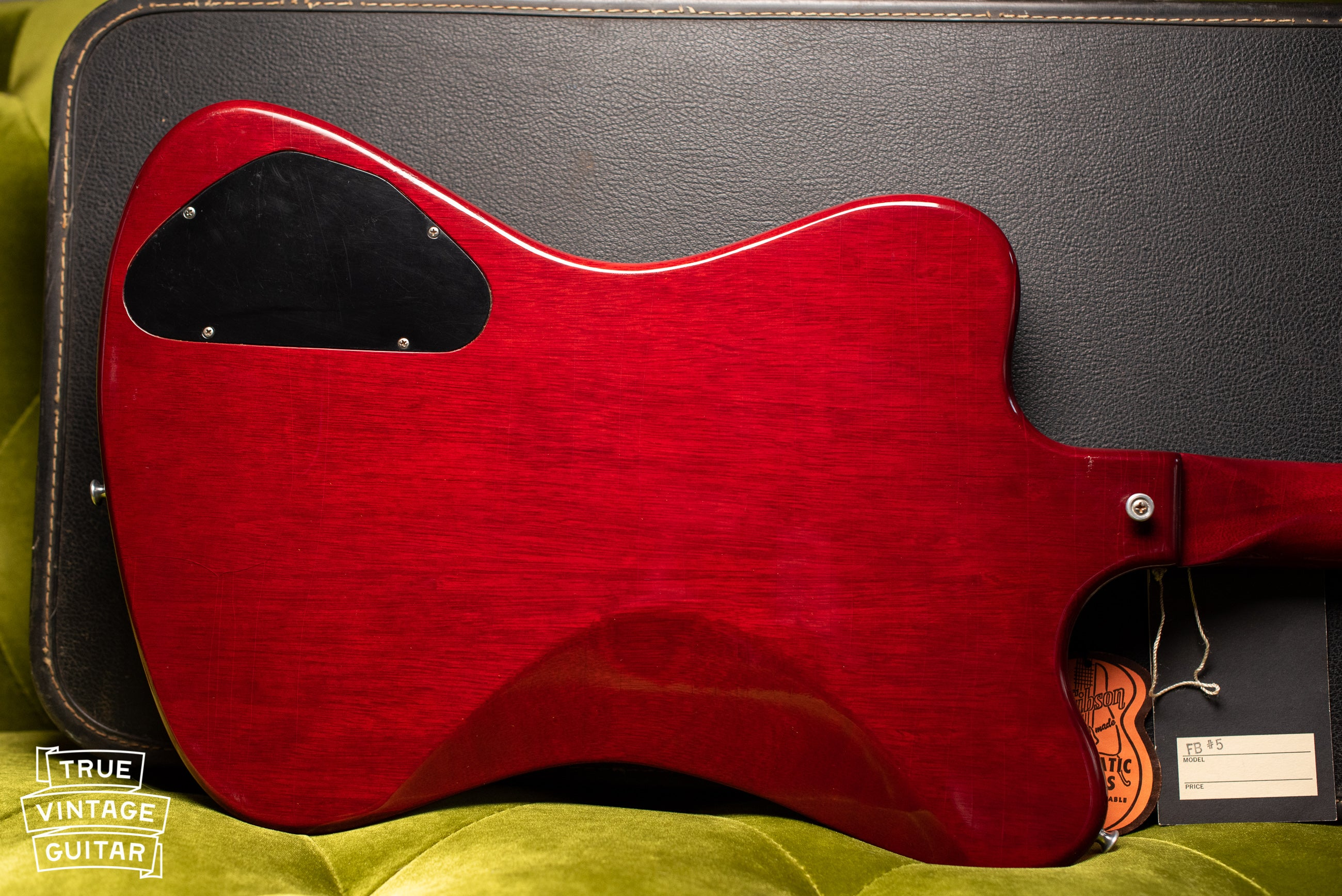 Gibson non-Reverse Firebird V Cherry Red 1965