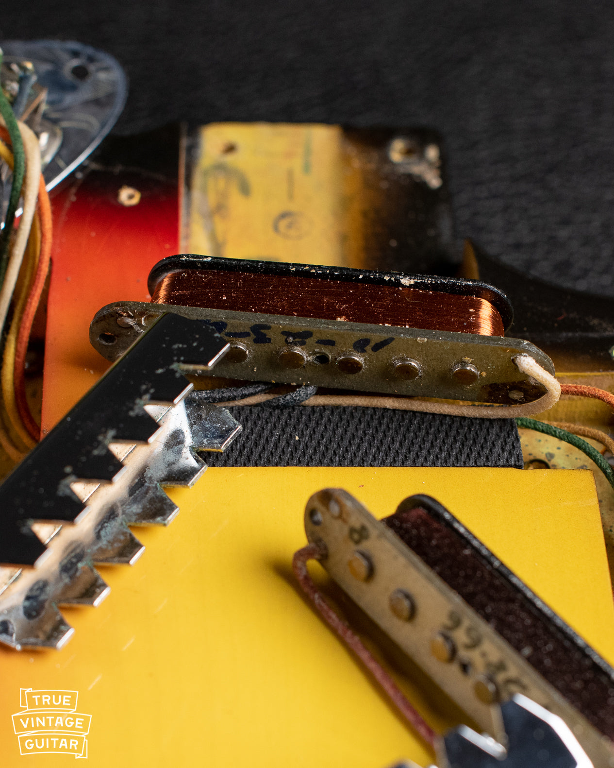 How to date Fender Jaguar pickups with date signature