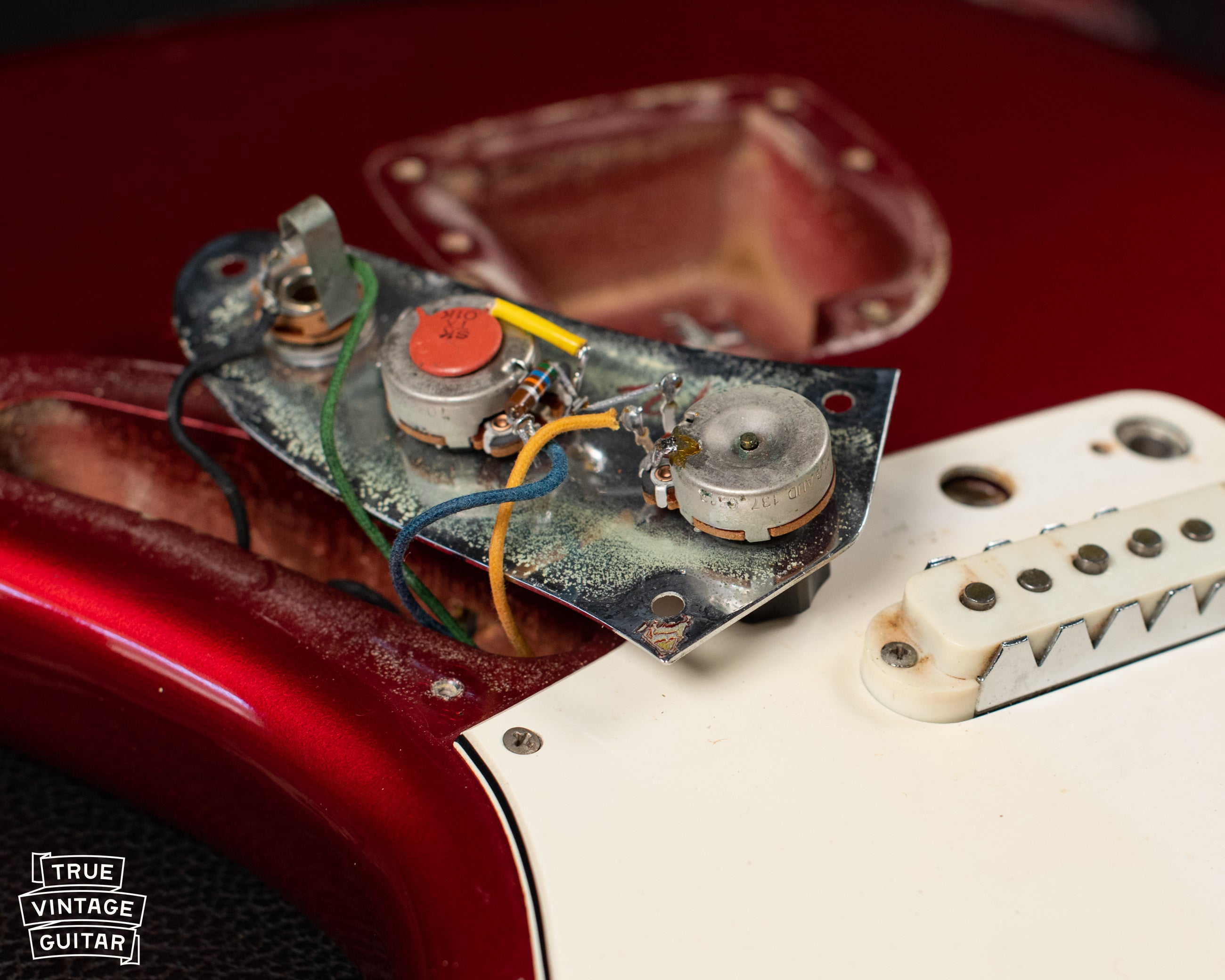 Fender Guitar potentiometer date code
