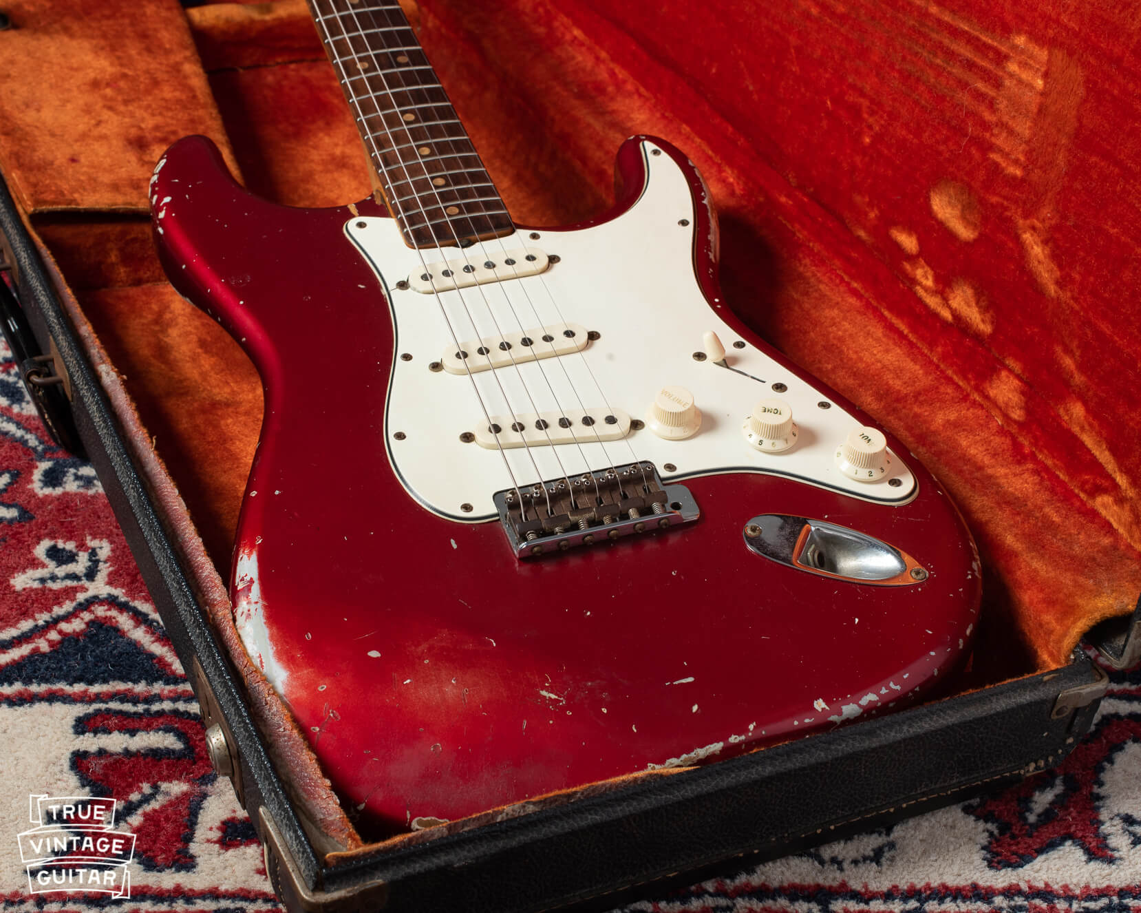 Fender Stratocasters 1960s Red guitar