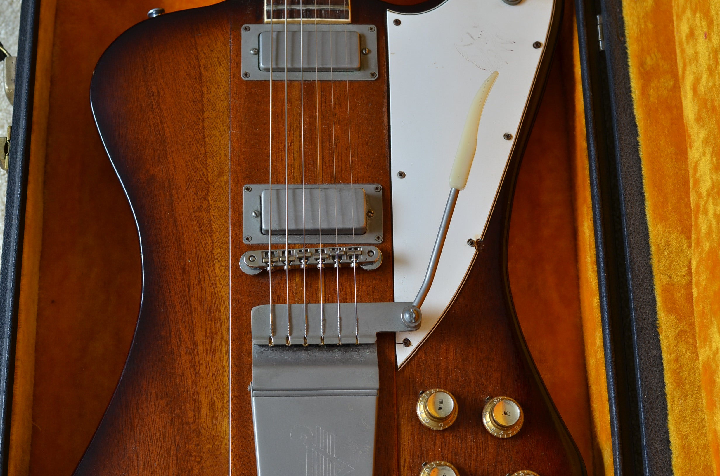 Gibson Firebird V 1964 vintage guitar dating and values