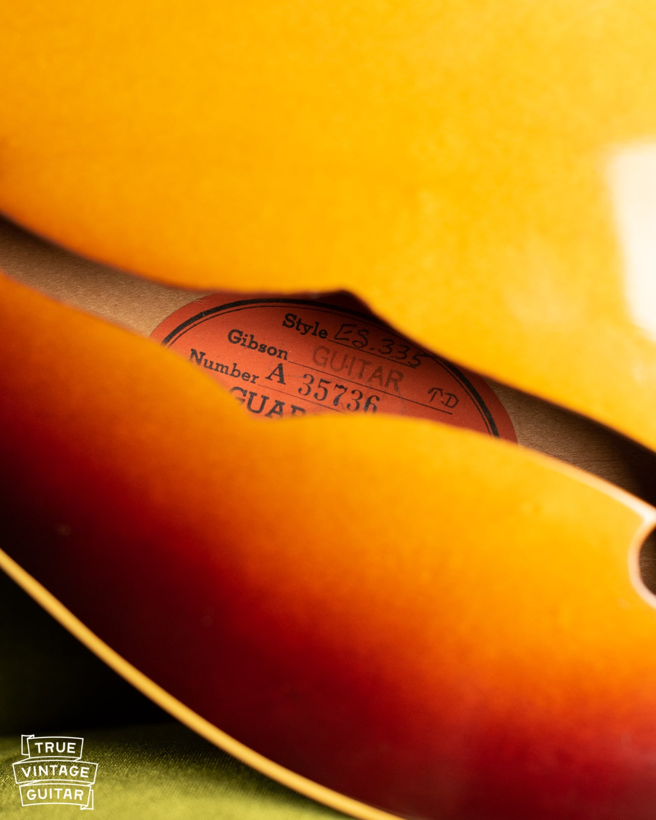 How to date a Gibson ES-335 with serial number
