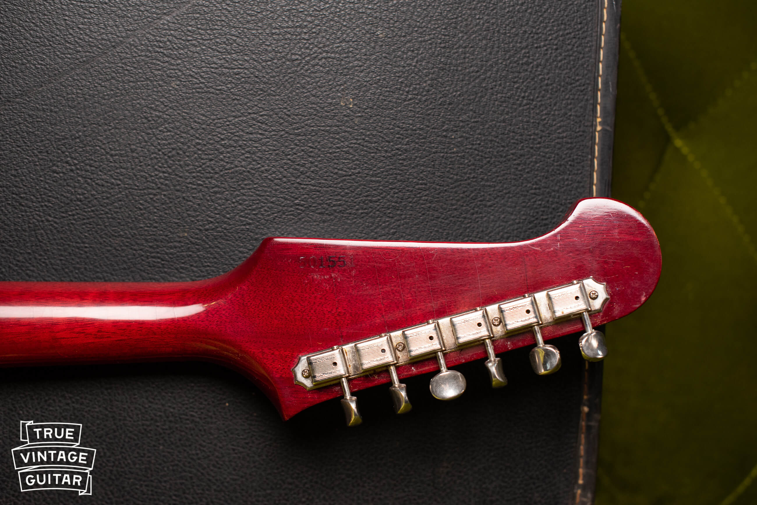 Gibson serial numbers pre-1975 for Firebird guitars
