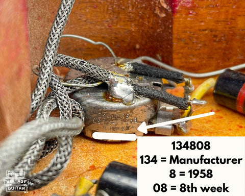 How to date Gibson Les Paul guitars with potentiometer codes