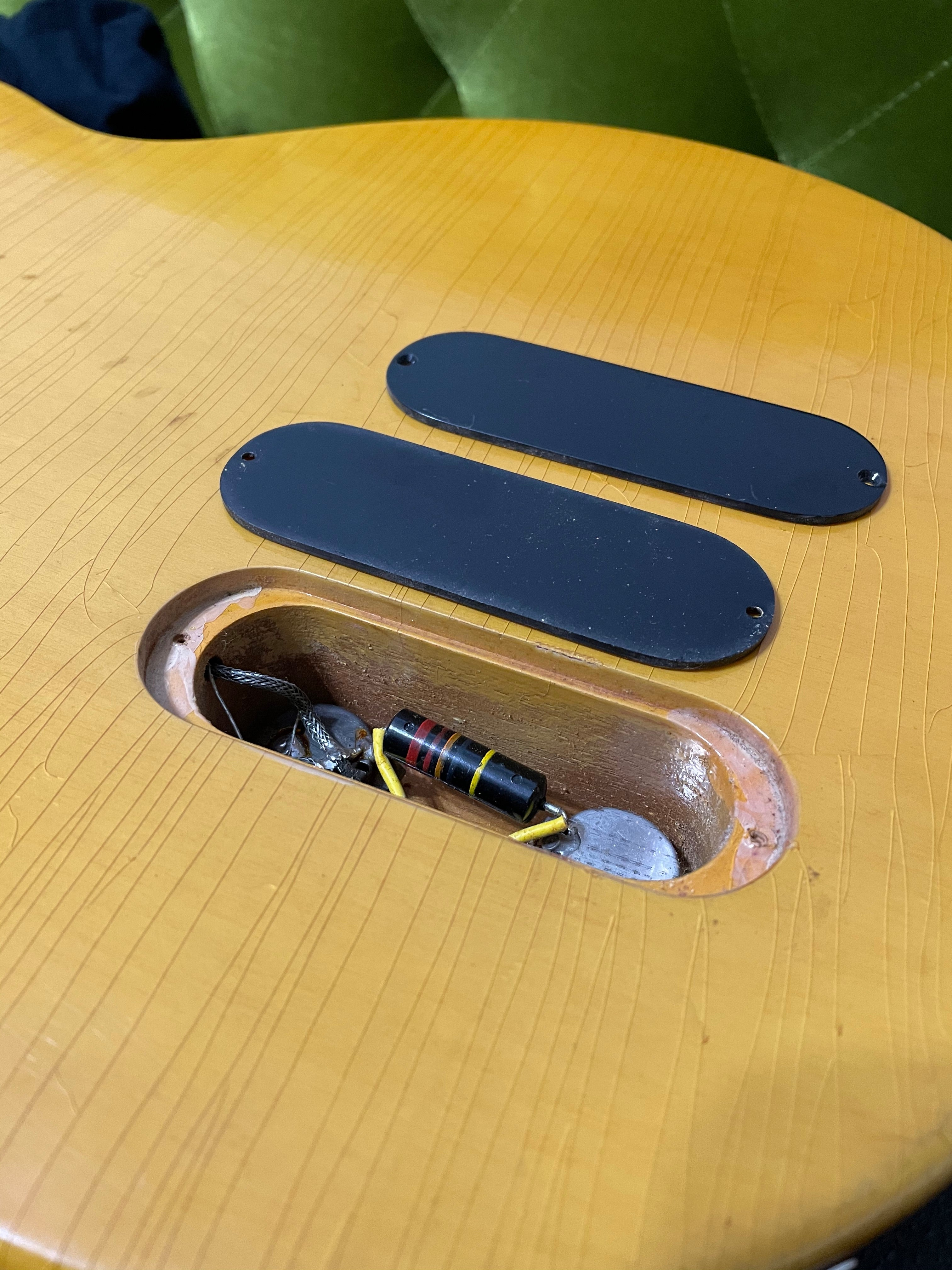 double stack plate control cavity extra deep ledge