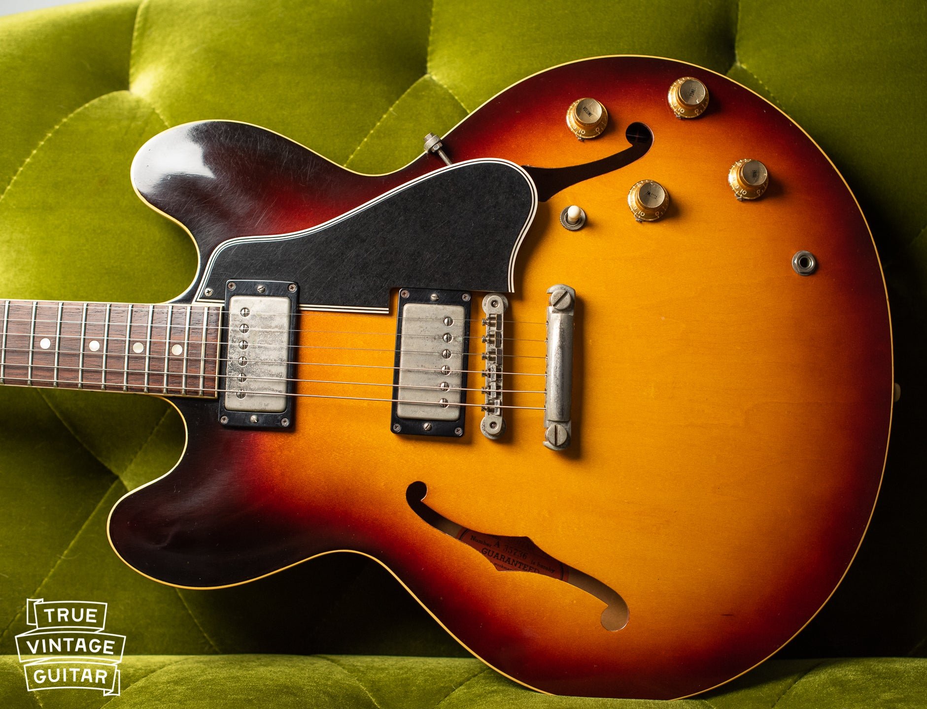 1960 Gibson ES-335 stop tail dot neck