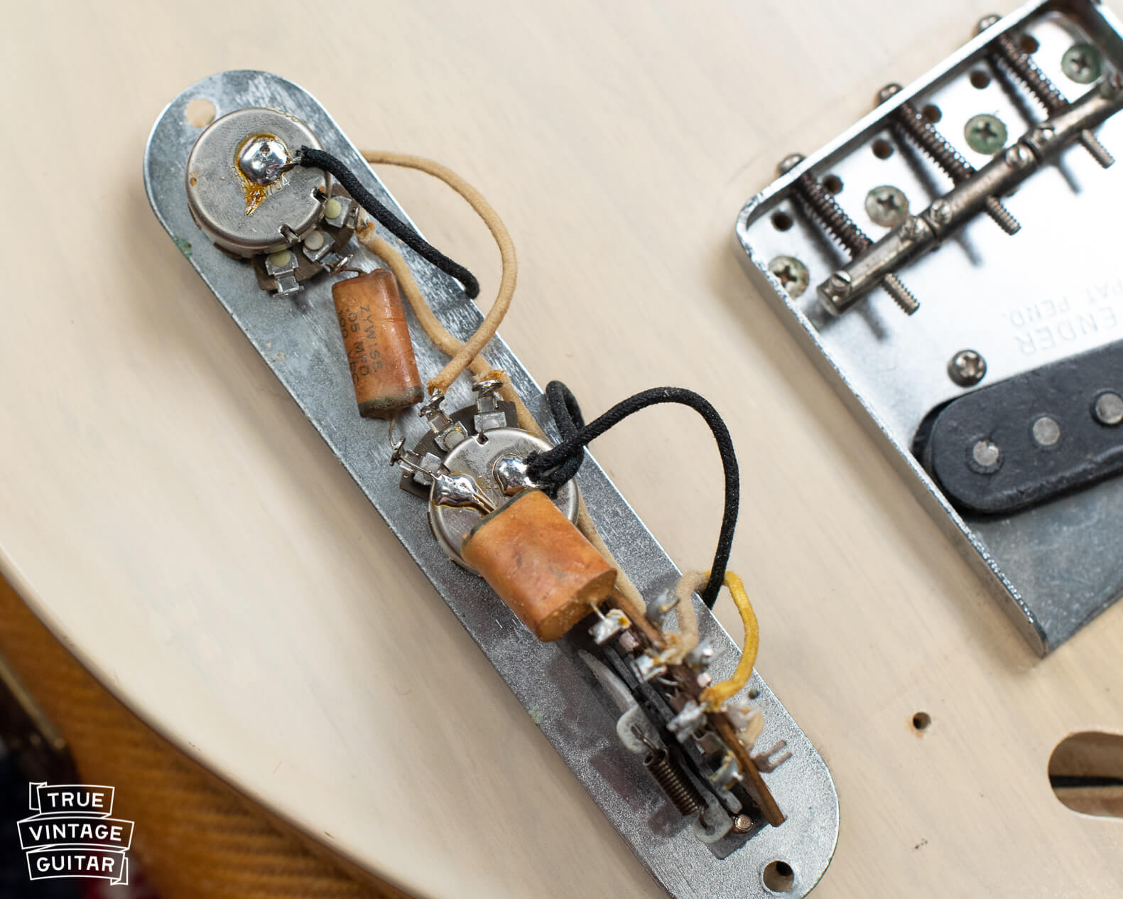 How to date Fender Telecaster with potentiometer codes
