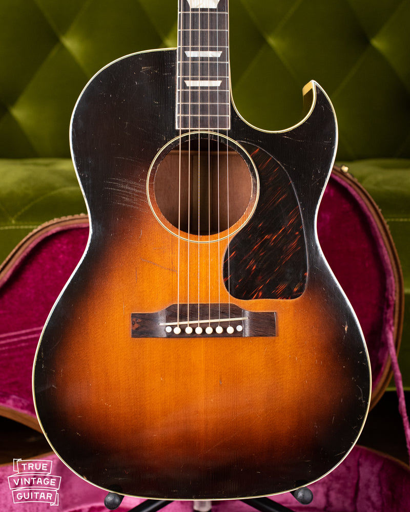 Gibson small body acoustic guitar with cutaway