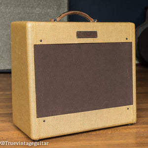 Vintage 1953 Fender Deluxe Amplifier, tweed
