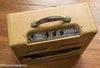 Original leather handle, Vintage 1953 Fender Deluxe Amplifier, tweed