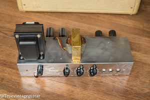 Original power transformer, output transformer, Vintage 1953 Fender Deluxe Amplifier, tweed