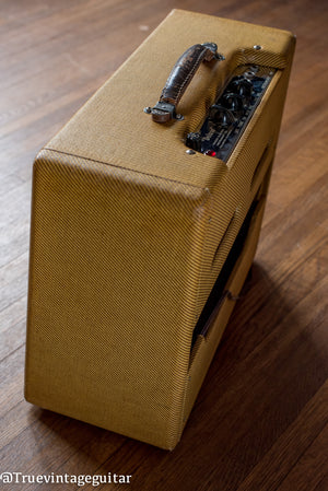 1953 Fender Deluxe 5B3 with cover
