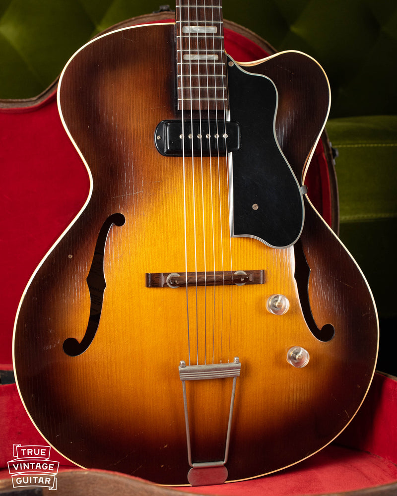 Vintage 1954 Guild X150 Savoy archtop electric guitar