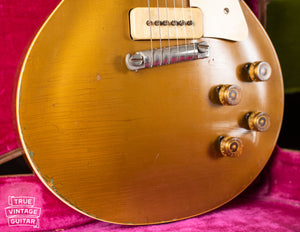 Wrap tail bridge, Vintage 1954 Gibson Les Paul goldtop