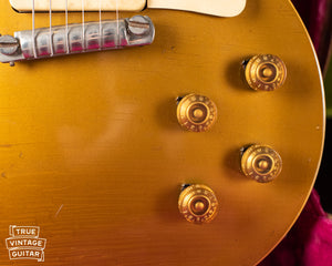 Speed knobs, Vintage 1954 Gibson Les Paul goldtop