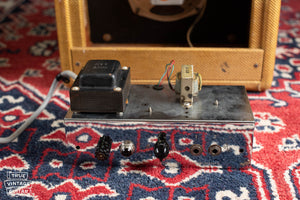1957 Fender Camp, power transformer, output transformer