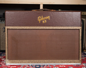 Vintage 1957 Gibson GA-55 guitar amplifier