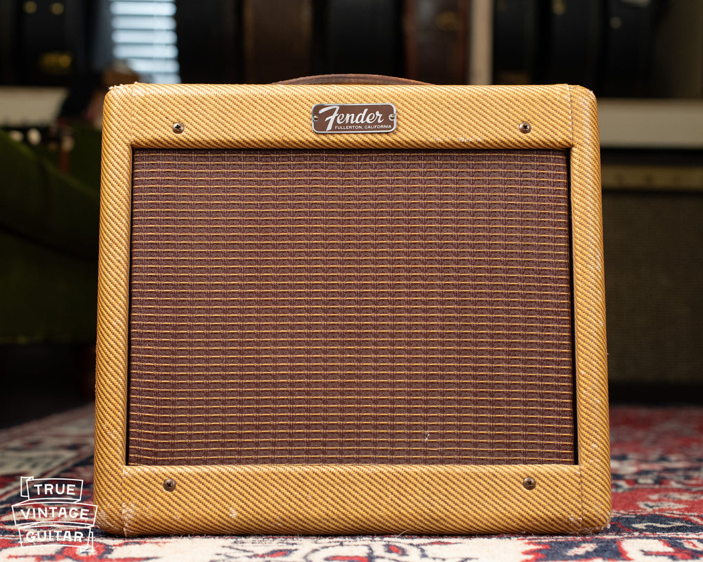 Vintage 1957 Fender Champ Amplifier tweed
