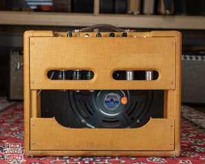 1958 Fender Deluxe 5E3 tweed Jensen speaker
