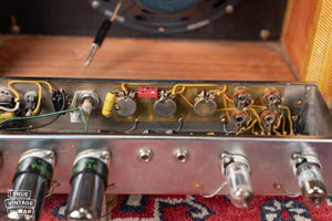 Original potentiometers 1958 Fender Deluxe