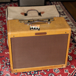 1958 Fender Deluxe Tweed guitar amp