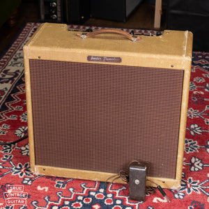 Vintage 1958 Fender Tremolux Tweed amp