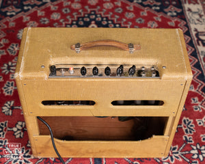 Tweed Fender amplifier