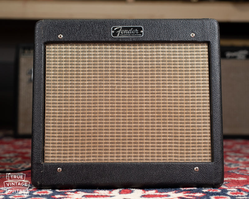 Tube Chart Fender Champ 5F1