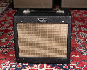 Fender Champ 5F1 transition cabinet, black Tolex
