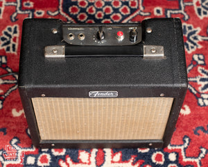 Vintage Fender guitar amplifier