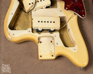 blond finish neck pocket 1963