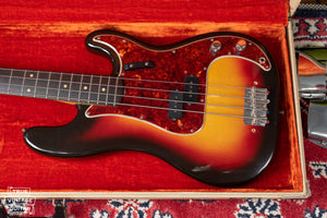 Vintage 1963 Fender Precision Bass guitar