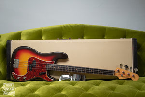 Vintage Fender bass guitar