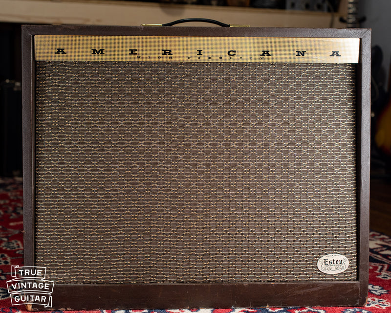 Chassis, point to point wiring, Vintage Magnatone Americana Custom 262B guitar amplifier