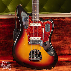 Vintage 1963 Fender Jaguar Sunburst guitar