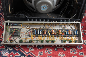 Vibroverb chassis, circuit, 1964
