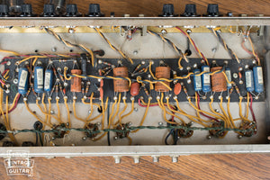 Chassis, circuit board, 1964 Fender Vibroverb amp