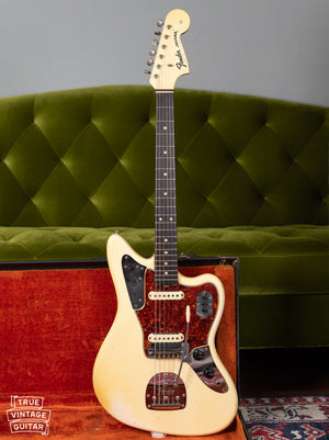 Vintage 1965 Fender Jaguar white
