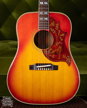 1965 Gibson Hummingbird vintage acoustic guitar