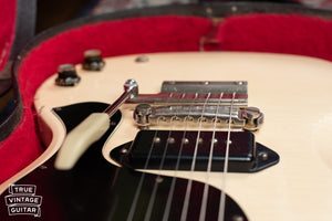 Gibson Vibrola tailpiece, lightning bar bridge
