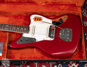 Vintage Fender Jaguar electric guitar