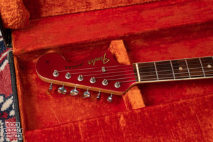 Fender Jaguar electric guitar red