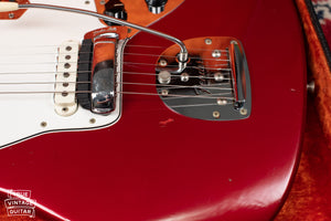 1966 Fender Jaguar Candy Apple Red