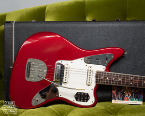 Fender electric guitar 1966 Red
