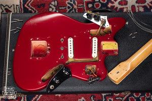 Fender Custom Color neck pocket, tremolo cavity