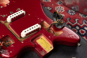 Candy Apple Red Metallic Fender 1966
