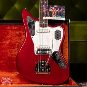 Vintage Fender Jaguar guitar Red